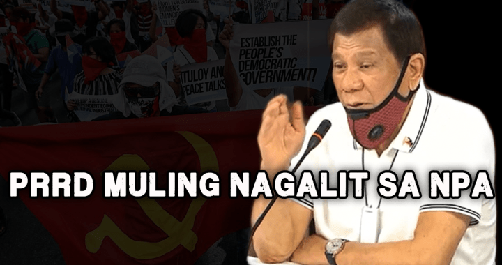 President Duterte threatens to declare martial law if 'lawlessness' of NPA continues