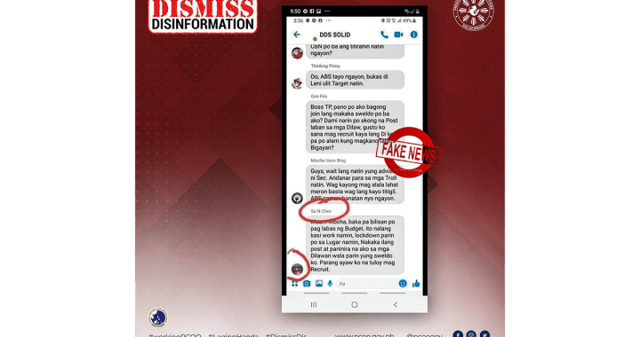 """PCOO denies employing  """"DDS Solid"""" trolls to attack ABS-CBN"""