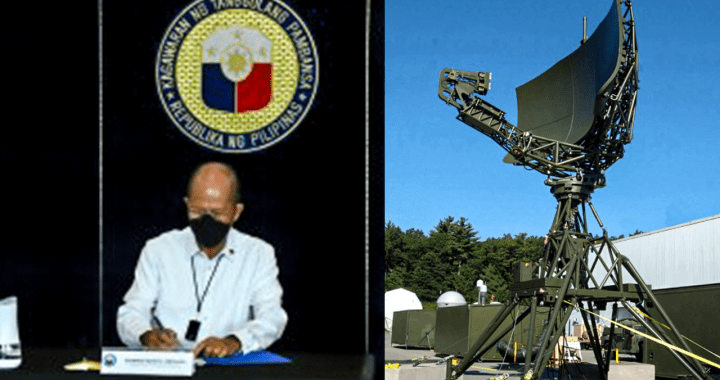 DND signed P5.5-B air surveillance radar system deal with Japanese firm