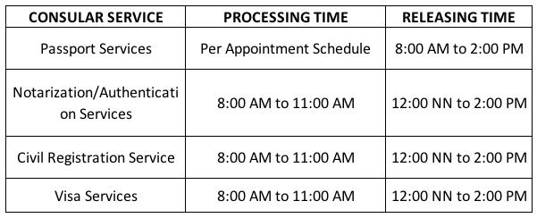 Ph Embassy S Working Hours In Ramadan 2018 The Filipino