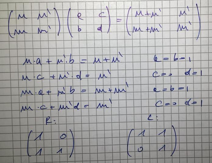 turning-matrices