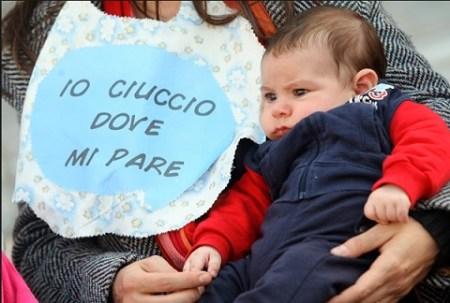 messaggio allattamento