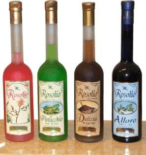 rosolio varietà