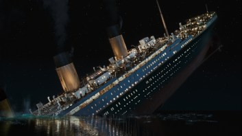 James Cameron's 1997 epic Titanic is being rereleased in 3-D.