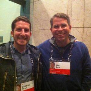 Jonathan Becker meeting Matt Cutts