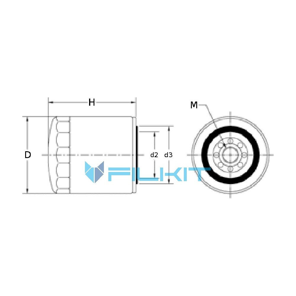 Fuel filter WK962/4 [MANN], OEM: 657288.0, WK962/4 MANN