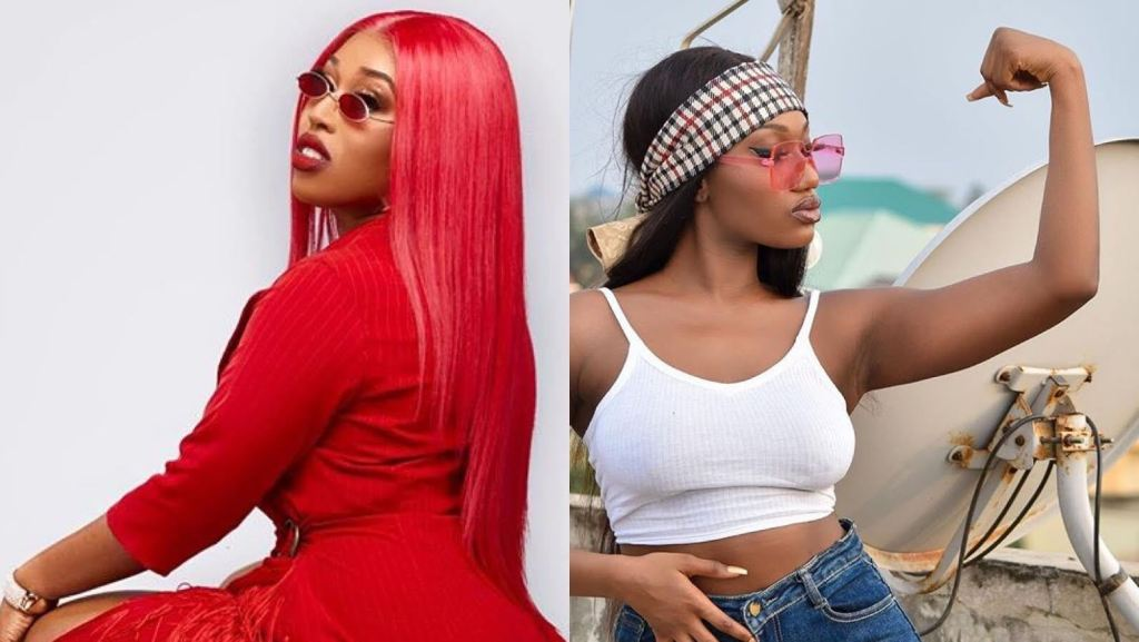 Fantana Destroys Wendy Shay In New IG Live Video