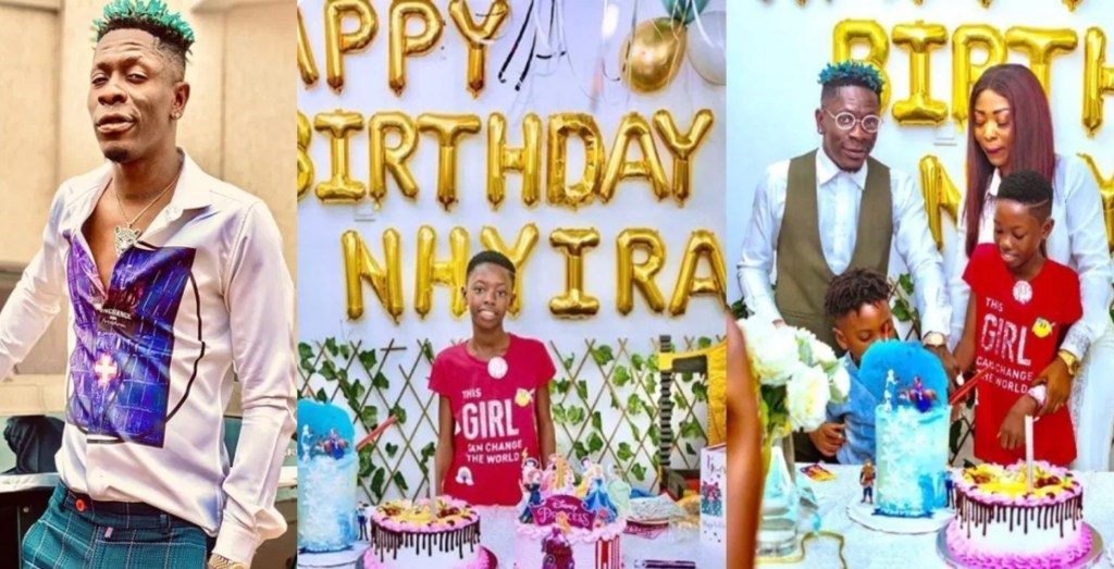 shatta wale daughter birthday party