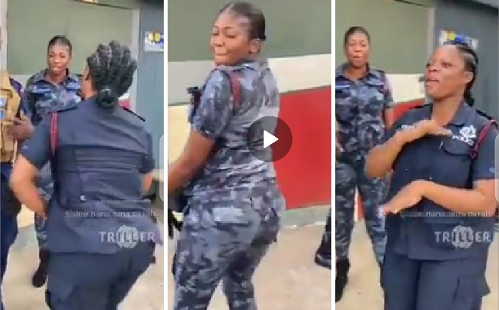 police-officers-dance-john-mahama's-campaign-song