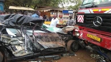 SAD!!! Horrible Accident On Kasoa - Cape Coast Road; 6 Dead, Several Injured