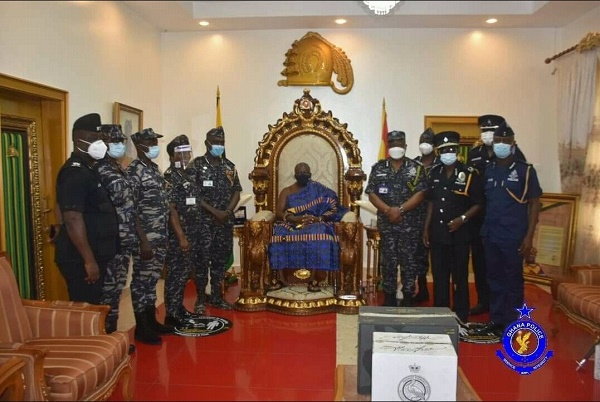 MP's Killers Arrest: Otumfuo Commends IGP