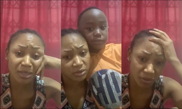Mother And Son Affair: Akuapem Poloo Drops Video Smooching With Her Son
