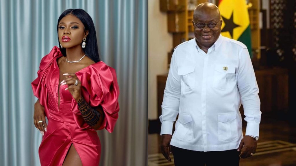 Becca Exposed For Begging Akufo Addo For Cash To Campaign For The NPP