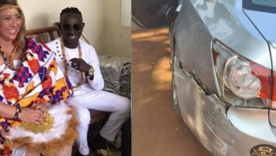 Patapaa and wife accident