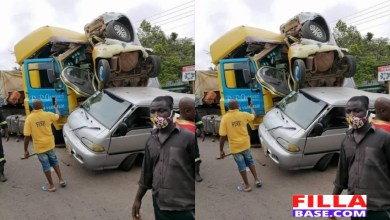 4 Cars Involved In Accident At Nsawam SDA Junction
