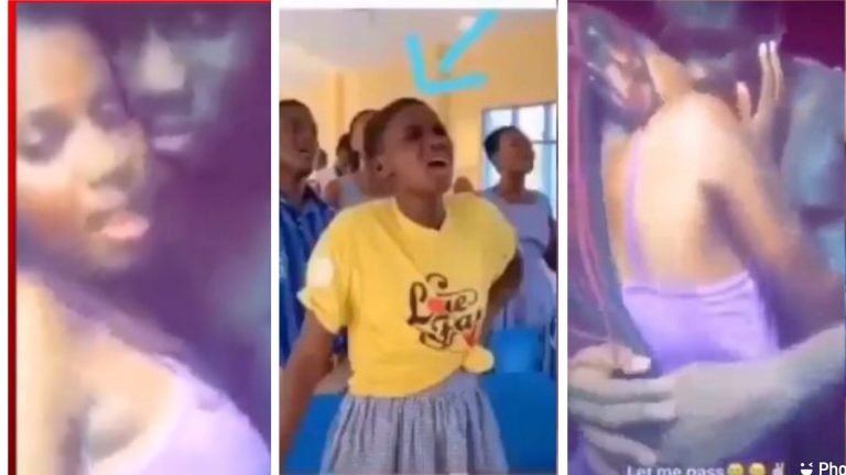 SHS SRC President Do 'Yawa' As Video Of Her Happily Enjoying Herself With Boyfriend Hit The Net