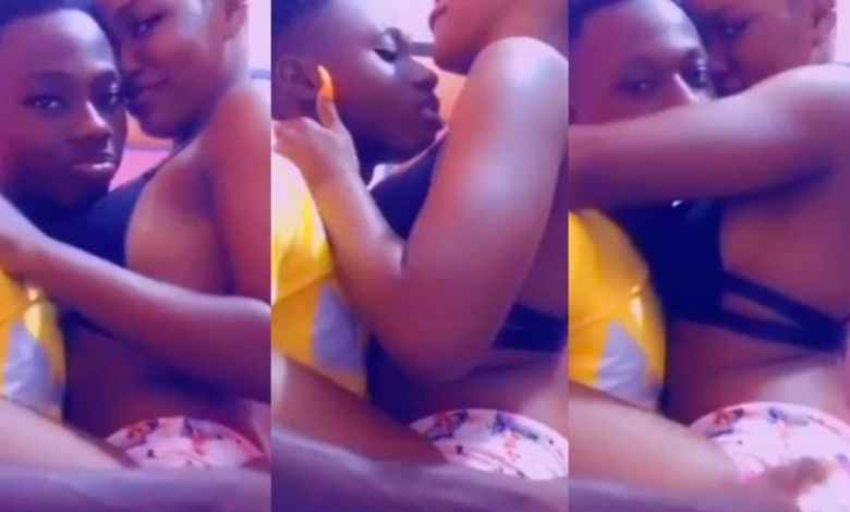 Viral Video: KNUST Level 100 Students Cuaght D0!ng Love On Campus (+Video)