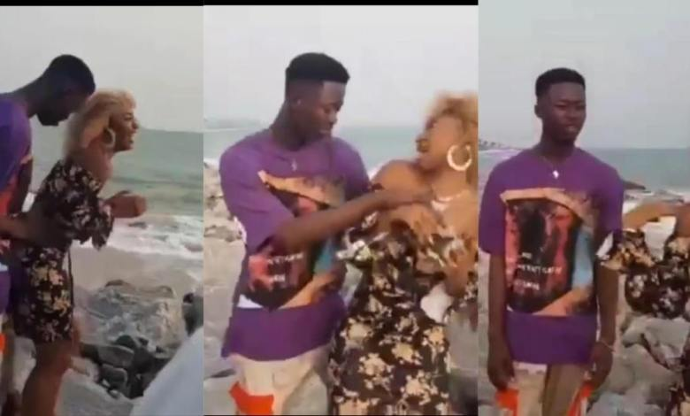 Video Vixen Angrily Leaves Video Shoot After Complaining That The Upcoming Musician Is Grinding Her Too Much