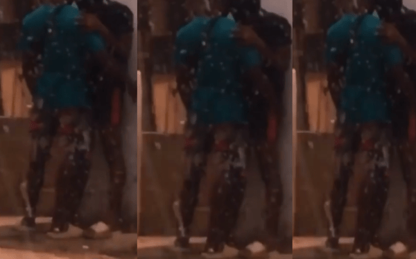 VIDEO: 2 Ghanaian Gays Caught Touching Themselves In Public