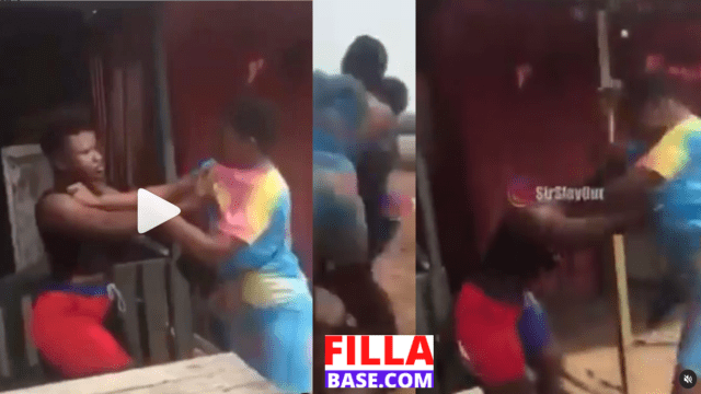 2 Teenage Girls Fight And Dirty Themselves Over Boyfriend In Public
