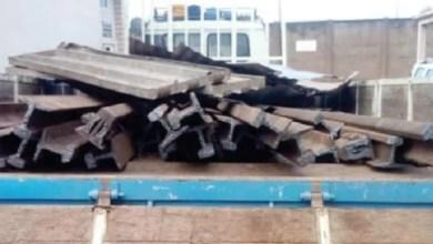 Police Grab Truck With Stolen Railway Lines