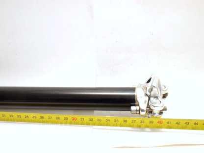 Musta 30,0mm satulatolppa