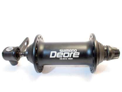 Shimano Deore HB-M510 32h musta etunapa