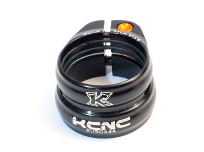 KCNC Twin Clamp SC12 34,9/31,6mm satulatolpan kiristin