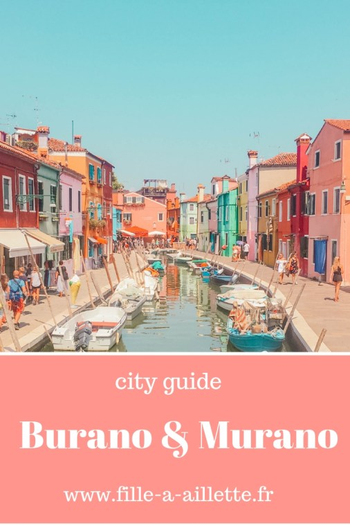 city guide Burano & Murano