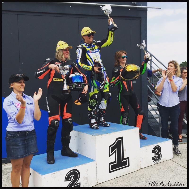 women's cup FFM 2018 podium 100cc Margaux Vanhamm