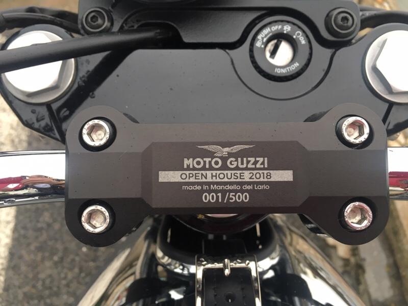 tete de fourche moto guzzi v7 iii limited