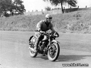 charles krajka 1957moto guzzi airone 250