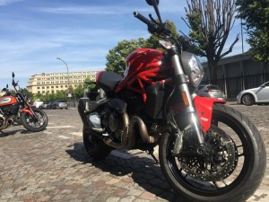 Moto Ducati Monster 821 A2 2019
