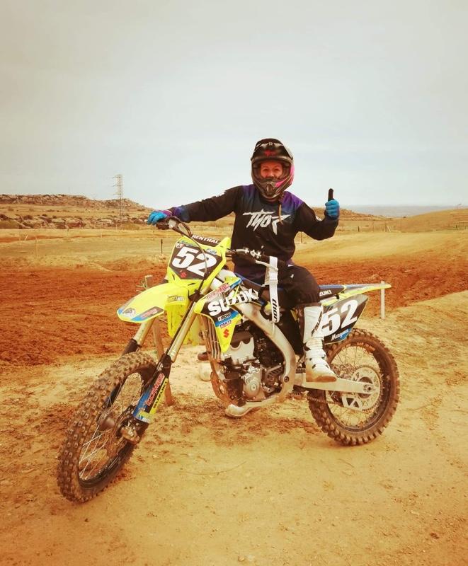 Margaux wanham a commencé le motocross en 2019