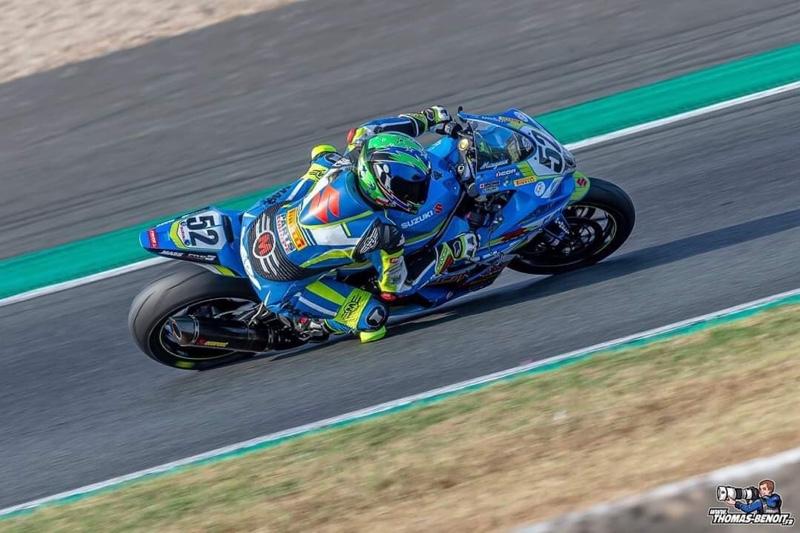 Margaux Vanham est une pilote moto femme qui participera en 2020 au championnat du monde d'endurance