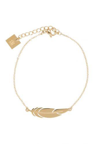 ZAG Bijoux Armband – Gouden Veer