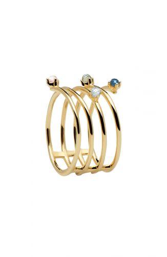 PD Paola Ring – Ultramarine Goud