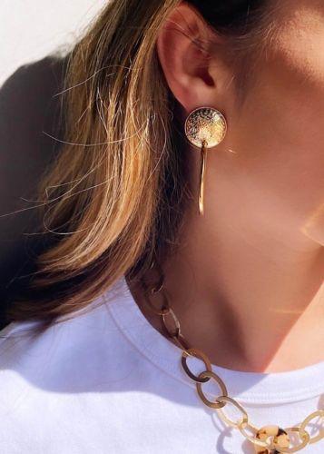 ZAG Bijoux Oorbellen – Gouden Cirkels