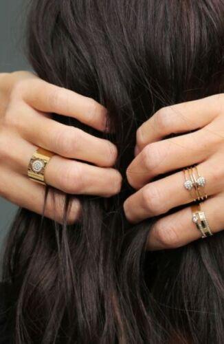 ZAG Bijoux Ring – Zirkonia Goud