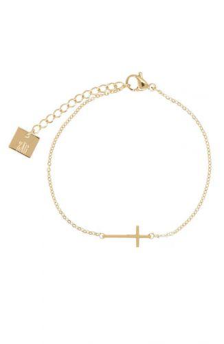 ZAG Bijoux Armband – Goud Kruisje
