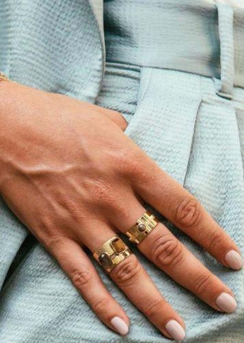 Zag Bijoux Ring – Pastelkleurige Stenen