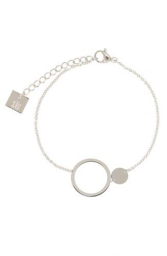 ZAG Bijoux Armband – Circle Of Love Zilver