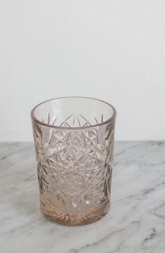 Vintage Glas Taupe