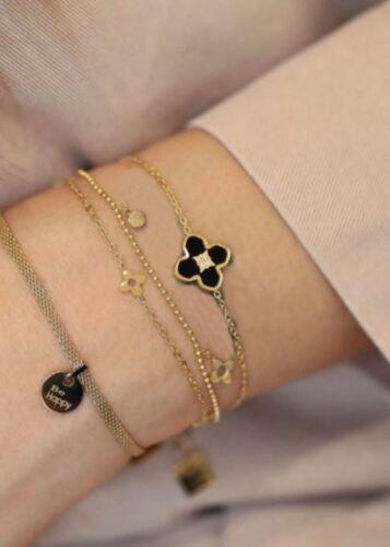ZAG Bijoux Armband – Flower Strass Goud