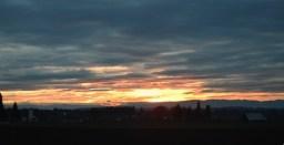 sunrise over valley 12-3-14