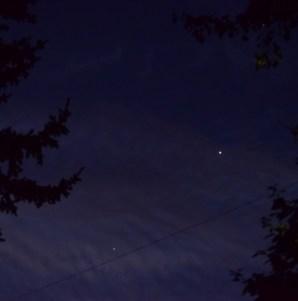 Venus, Mars, & Jupiter