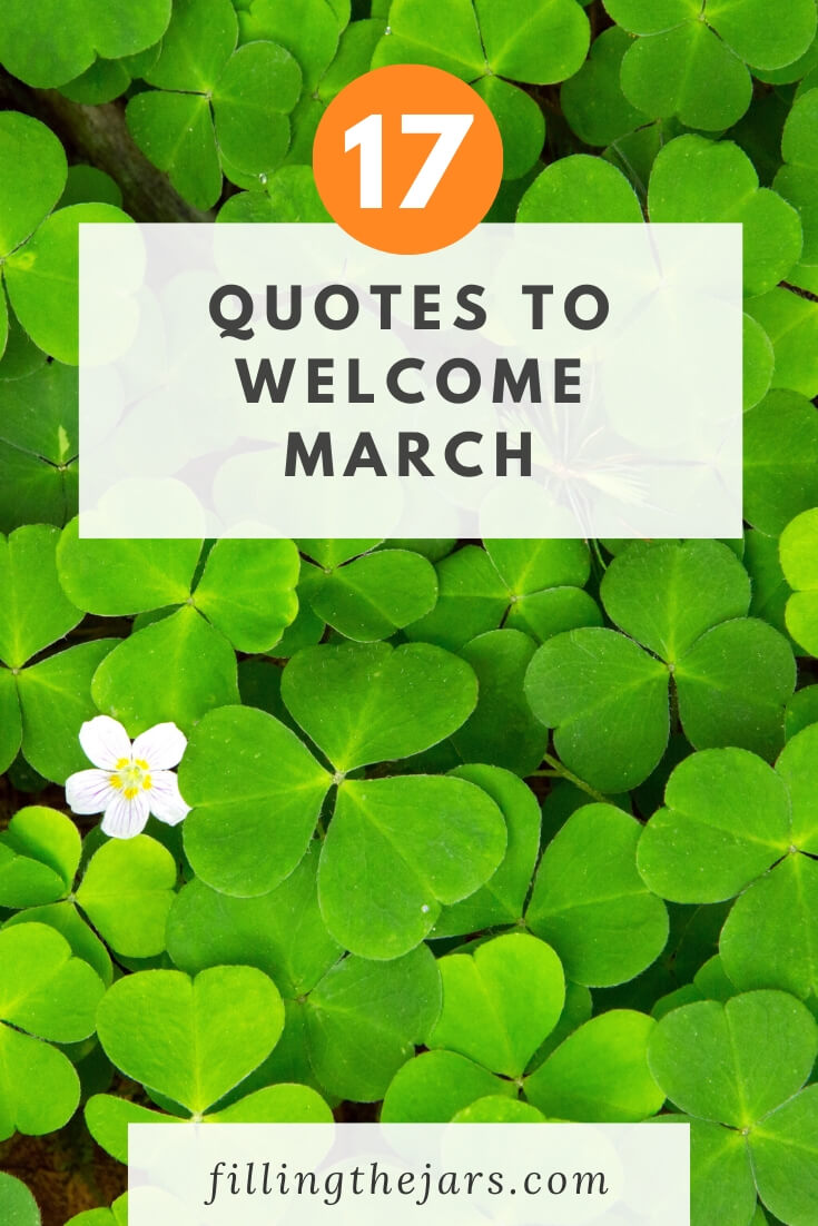 March Quotes Images : march, quotes, images, Month, March, Quotes, Filling