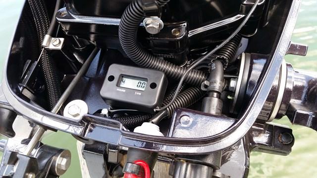 Installed hour meter