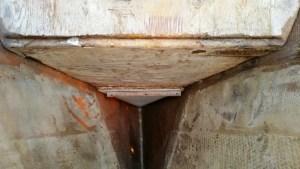 Anchor locker in v-berth