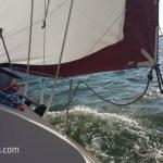 Sailing a friend's O'Day 28